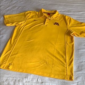Nike Fit Minnesota Golden Gophers Polo XL